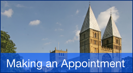 Making an appointment